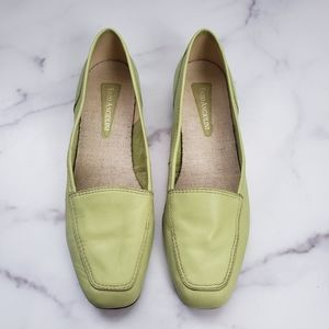 Enzo Angiolini Liberty Green Slip On Loafers 8